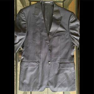 Versace Jacket Silk Wool Italy Italian Blazer